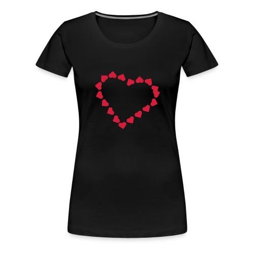 Tshirt femme Saint Valentin - T-shirt Premium Femme