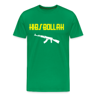 T-Shirts ~ Men's Premium T-Shirt ~ Limited edition (two colour) Hibs-bollah + AK47- only a couple left....