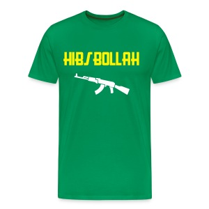 Limited edition (two colour) Hibs-bollah + AK47- only a couple left.... - Men's Premium T-Shirt