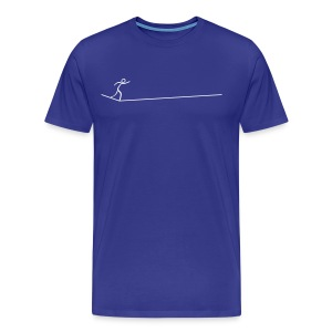 Slackline - Männer Premium T-Shirt