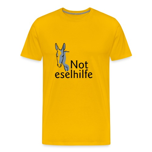 Noteselhilfe-Logo - Männer Premium T-Shirt