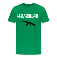 T-Shirts ~ Men's Premium T-Shirt ~ Limited edition (two colour) Hibs-bollah + AK47 - only a couple left....