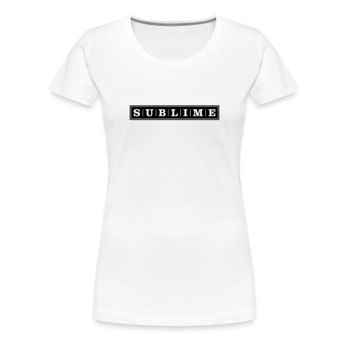 SUBLIME T-Shirt   weiß   Mädels - Frauen Premium T-Shirt