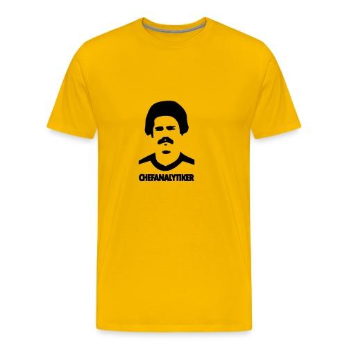 chefanalytiker - Männer Premium T-Shirt