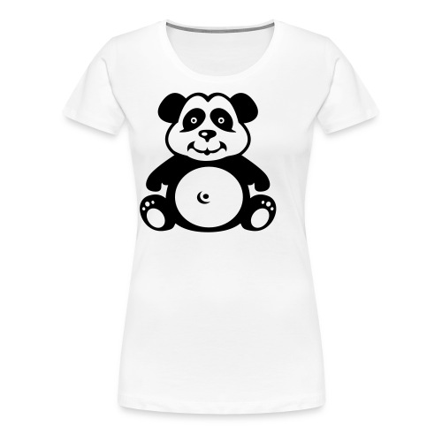 Premium-T-shirt dam - Rachelle Design