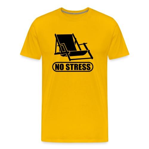 Mannen Premium T-shirt - Leuk voor in de Vakantie dagen {Stressvrij}