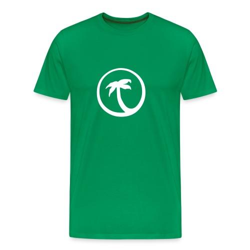 Palm -Grön - Premium-T-shirt herr