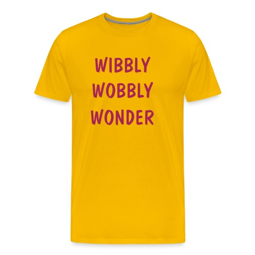 Wibbly Wobbly Wonder - Men's Premium T-Shirt