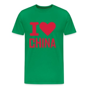 I Love China - T-shirt Premium Homme