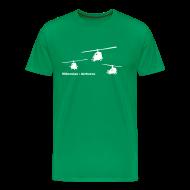 T-Shirts ~ Men's Premium T-Shirt ~ hibernian & iconic US vietnam choppers