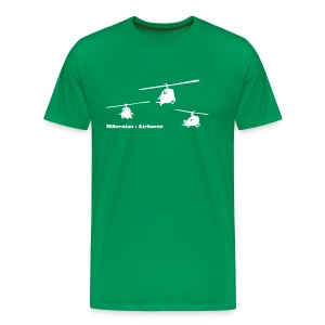 hibernian & iconic US vietnam choppers - Men's Premium T-Shirt