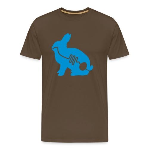 Konijntjaaah - Mannen Premium T-shirt