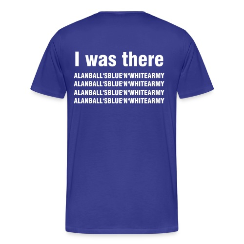Stockport - I was there - Men's Premium T-Shirt