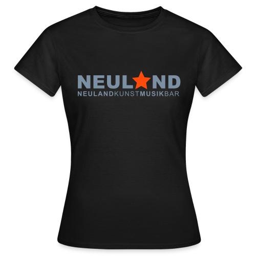 shirtlogo_neuland - Frauen T-Shirt