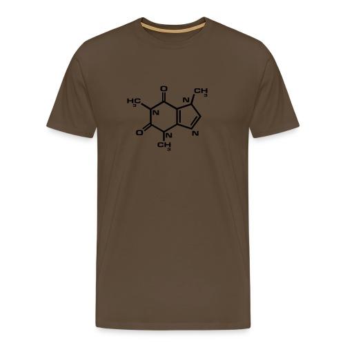 caffeine power - Men's Premium T-Shirt