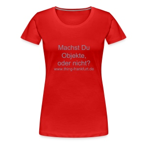 Objekte Girls Shirt - Frauen Premium T-Shirt