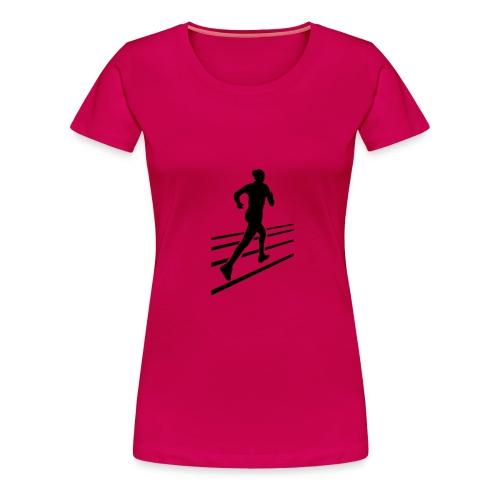 Sport-Shirt für Jogger - Frauen Premium T-Shirt
