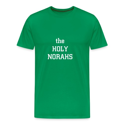 Men's Premium T-Shirt - Green is the new rock and roll.  T-Shirts are the future.