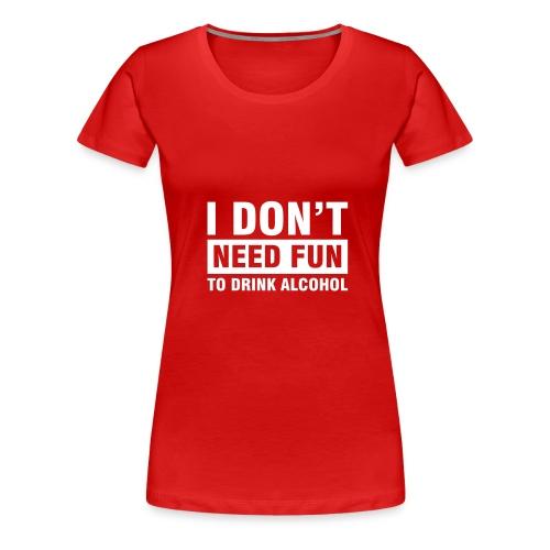 No Fun Classic - Women's Premium T-Shirt