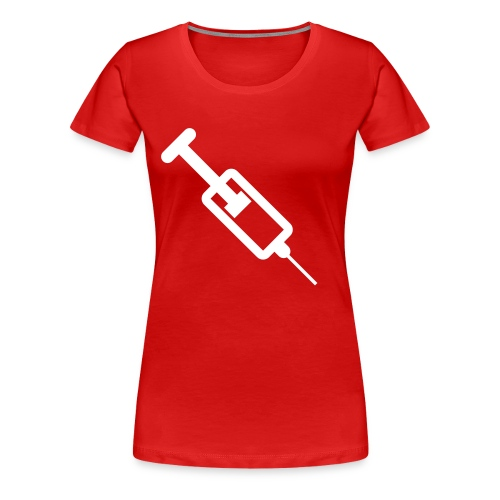 DOCTOR DOCTOR Red Girls classic Fit - Women's Premium T-Shirt