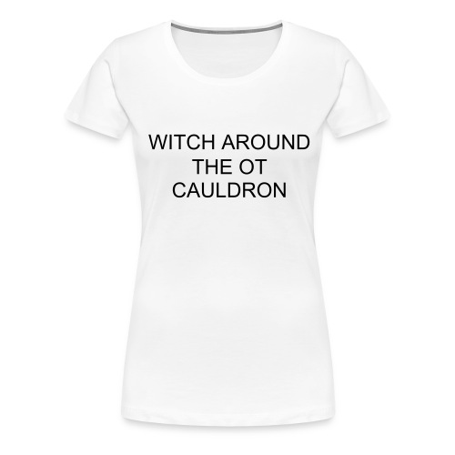 Witch - Women's Premium T-Shirt