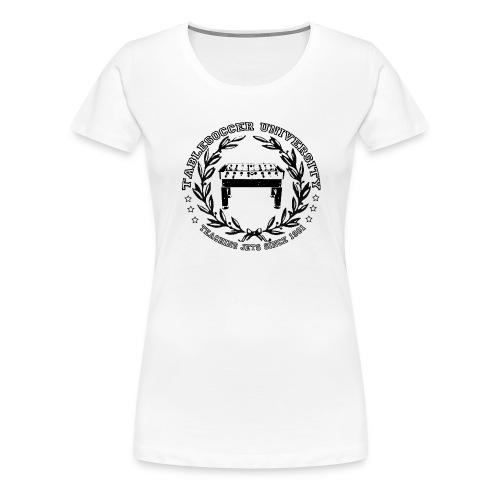 Girlie Tablesoccer University - Frauen Premium T-Shirt
