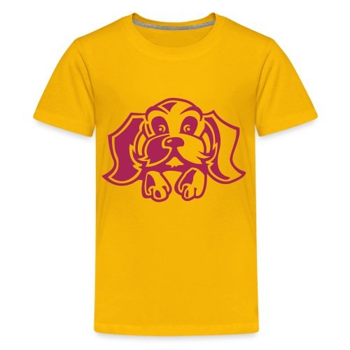 kindershirt hondje(diverse kleuren) - Teenager Premium T-shirt