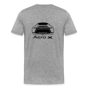 Aero-X (Front and rear view) - Men's Premium T-Shirt