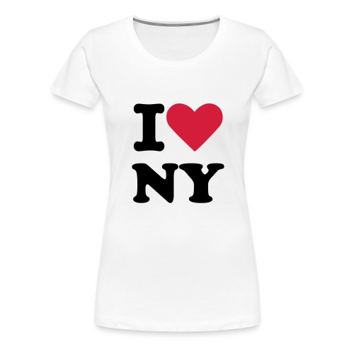 I LOVE2 - Women's Premium T-Shirt