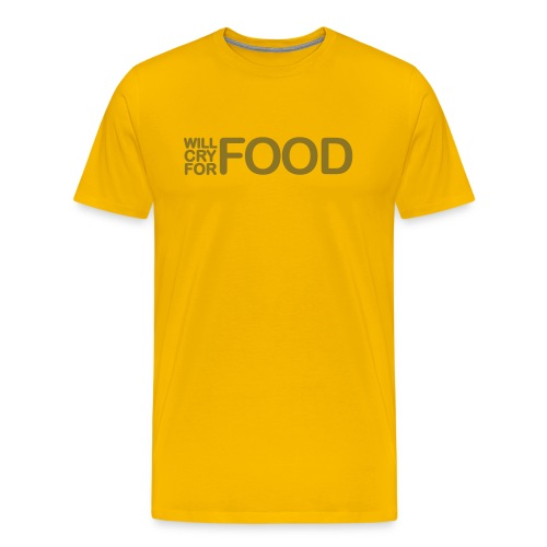 Food T-Shirt - Men's Premium T-Shirt