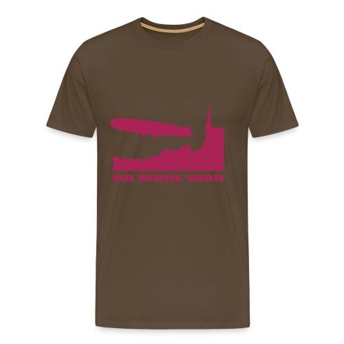 Premium T-skjorte for menn - Mann T-shirt Stop the war