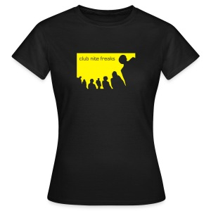 Club Nite Freaks Girl - Frauen T-Shirt