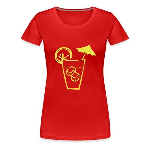 Cocktails - Women's Premium T-Shirt