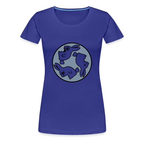 Classic Girlie Rabbit - Frauen Premium T-Shirt