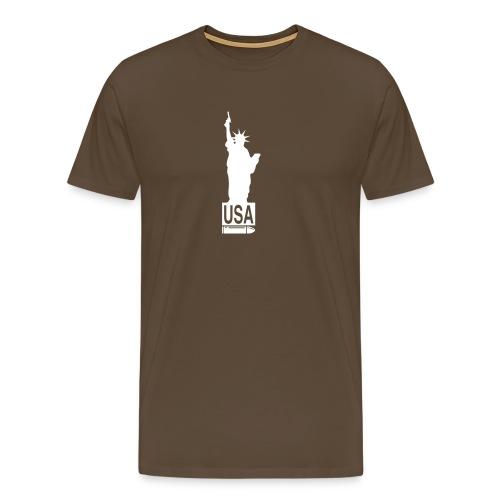 usa gun - T-shirt Premium Homme