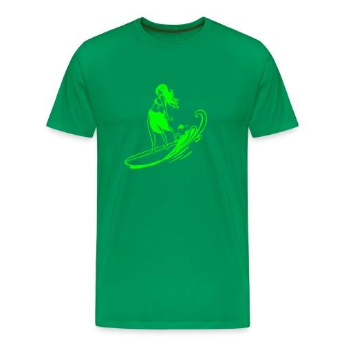 Aloha Sufer Girl - Men's Premium T-Shirt