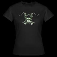 T-Shirts ~ Frauen T-Shirt ~ teufel-contcl-brglow