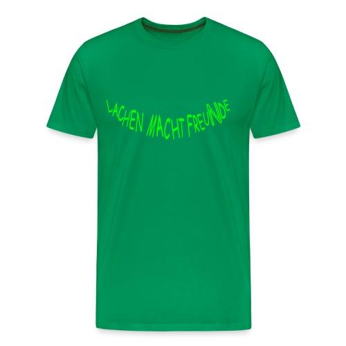 Lachen macht FreuNde: Frog (Druck vorn) - Männer Premium T-Shirt