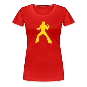 Elvis is the King - Women's Premium T-Shirt