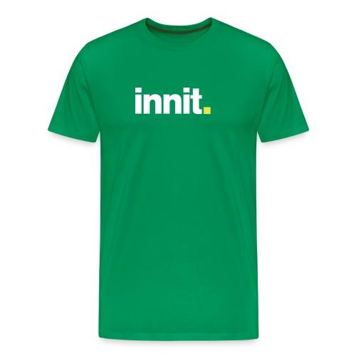 innit green tee - Men's Premium T-Shirt