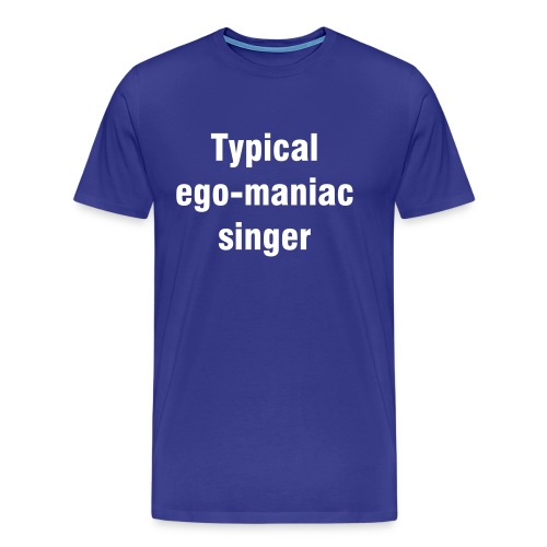 Typical singer - Men's Premium T-Shirt