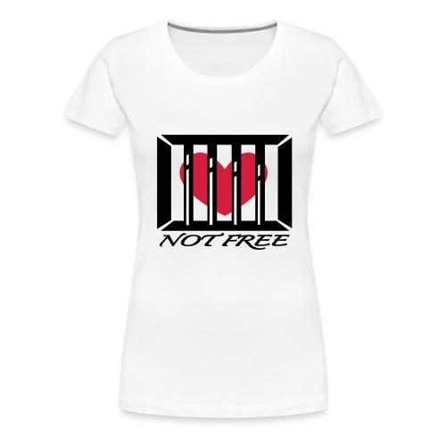 opptattjente - Premium T-skjorte for kvinner