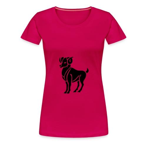 aries - Premium T-skjorte for kvinner