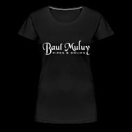 T-Shirts ~ Frauen Premium T-Shirt ~ Girlieshirt schwarz / weiß