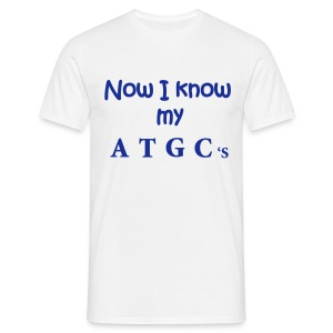 Now I know my ATGC's - Men's T-Shirt
