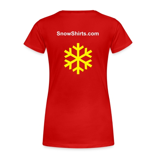 Female Yellow Snow - Frauen Premium T-Shirt