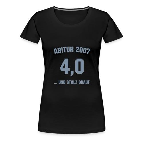 Abschluss-Shirt - Frauen Premium T-Shirt