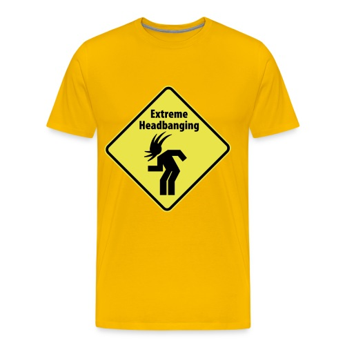 Extreme Headbanging - T-shirt Premium Homme