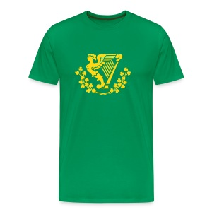 Erin Go bragh - harp only - (You choose the colour of this Item) - Men's Premium T-Shirt