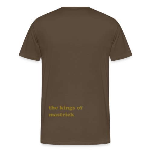 the future t-shirt brown - Men's Premium T-Shirt